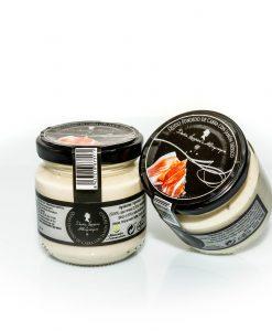 Crema de queso fundido con Jamón Ibérico