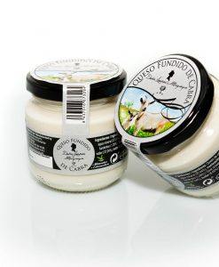 Crema de queso fundido natural